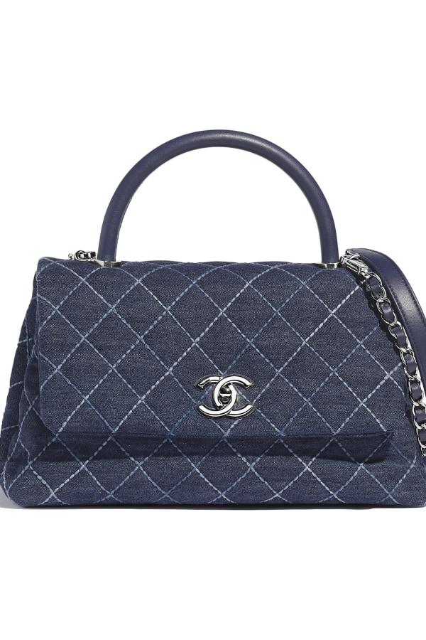 Image 4 of Chanel denim top handle bag