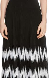 Maje Knitted Geometric Dress 3 Preview Images