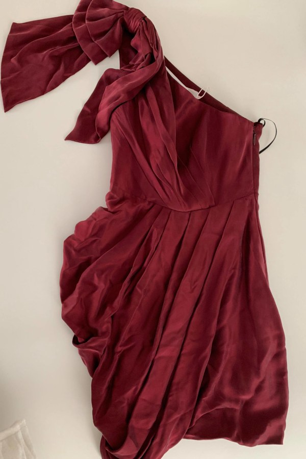 Image 3 of Zimmermann ruched one-shoulder silk