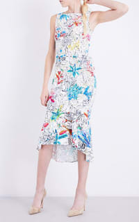 Peter Pilotto  Floral-print Crepe Dress 2 Preview Images