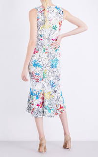 Peter Pilotto  Floral-print Crepe Dress 3 Preview Images