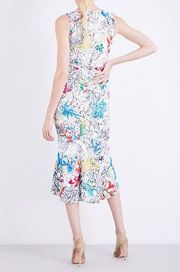 Peter Pilotto  Floral-print Crepe Dress 3