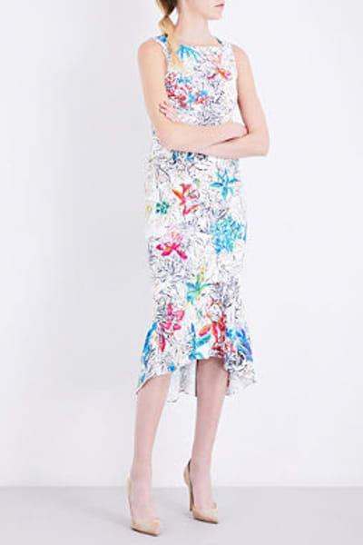Peter Pilotto  Floral-print Crepe Dress