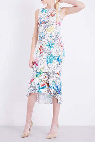 Peter Pilotto  Floral-print Crepe Dress 2