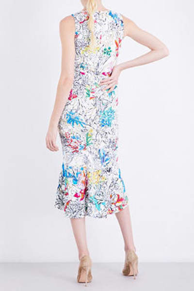 Peter Pilotto  Floral-print Crepe Dress 3