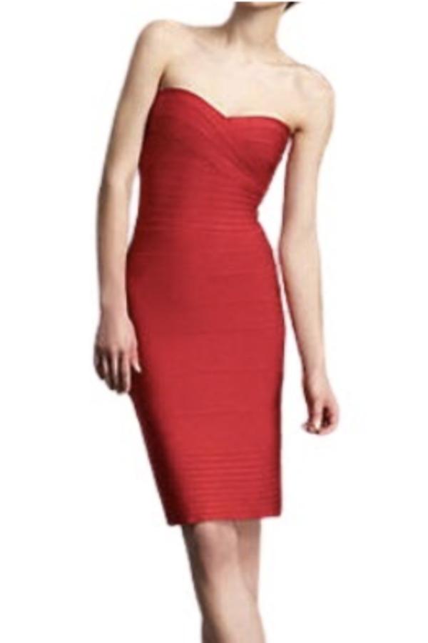 Hervé Léger Mini dress 3
