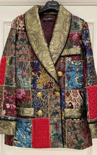 Dolce & Gabbana Brocade & Silk Blazer 5 Preview Images