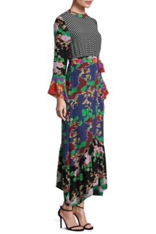 RIXO London The Chrissy Multi-Print Dress 3
