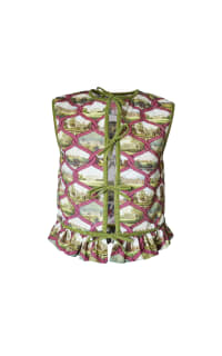 Olivia Annabelle Lizzie Reversible Waistcoat 2 Preview Images