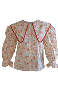 Olivia Annabelle Herman Blouse Admiral Print Preview Images