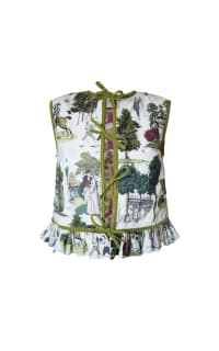 Olivia Annabelle Lizzie Reversible Waistcoat Preview Images
