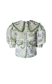Olivia Annabelle Bennet Jacket in Garden Print 2 Preview Images