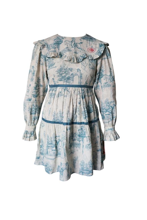 Olivia Annabelle Jane Dress in Powder Vauxhall  2