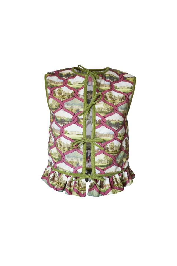 Olivia Annabelle Lizzie Reversible Waistcoat 2