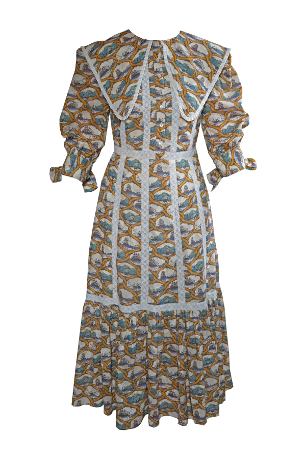 Olivia Annabelle Mariner Dress Voyager Print 0 Preview Images