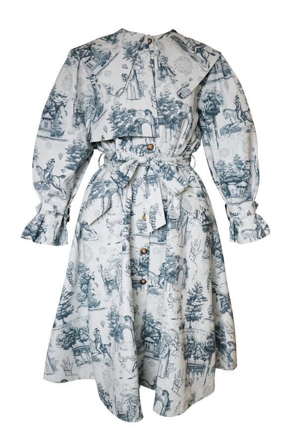 Olivia Annabelle Knightley Coat in Vauxhall 2
