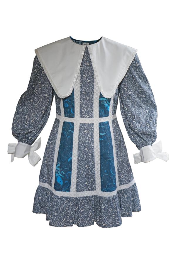 Olivia Annabelle Cove Dress Seatangle Print 2