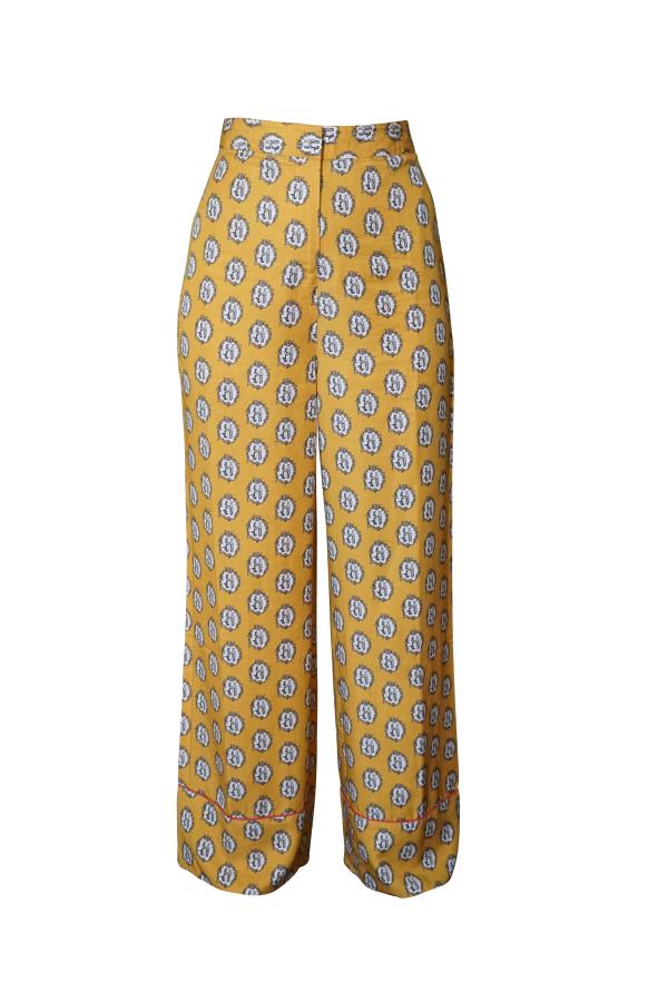 Olivia Annabelle Smuggler Trouser Siren Print 0 Preview Images