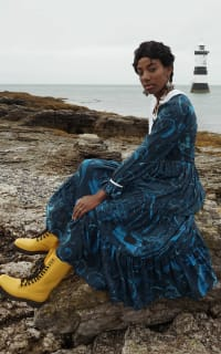 Olivia Annabelle Neptune Dress Atlantis Print 2 Preview Images