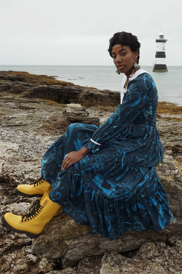 Olivia Annabelle Neptune Dress Atlantis Print 2