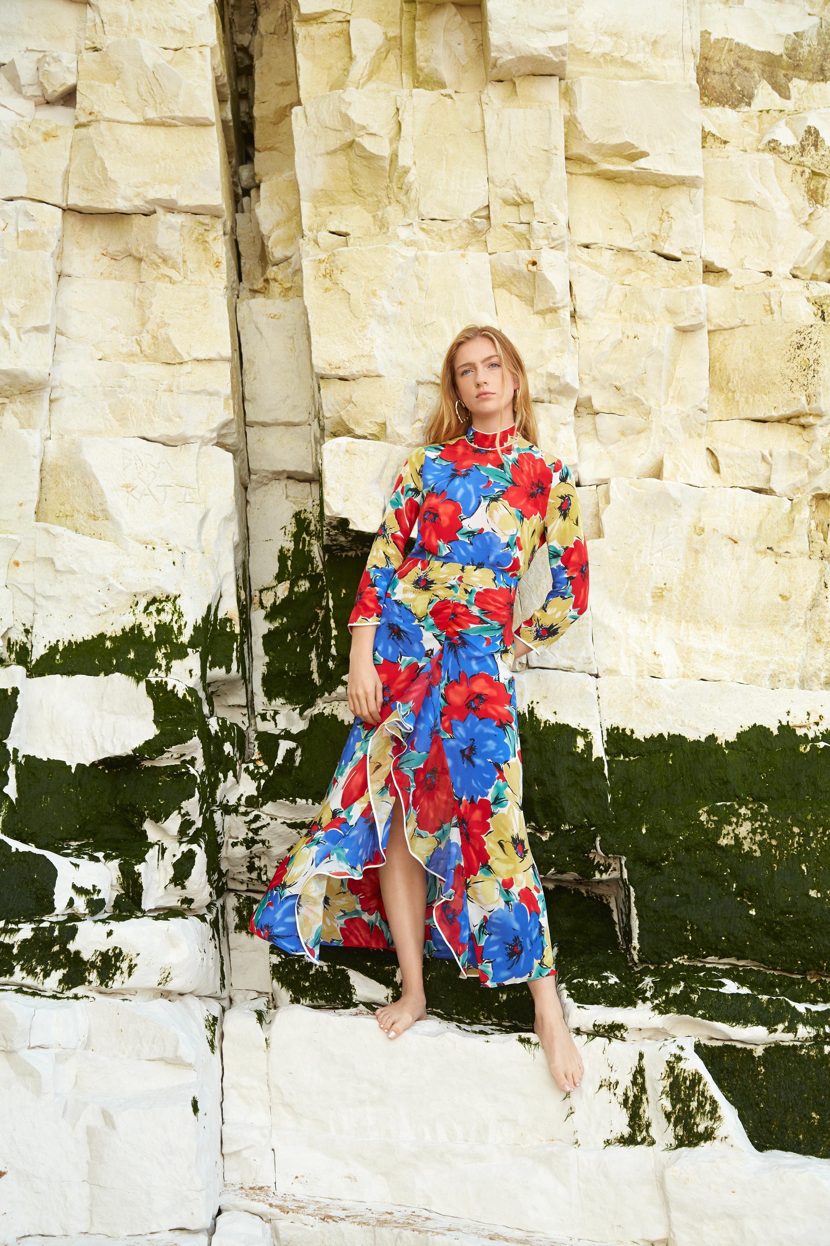 RIXO London Lucy open-back floral-print silk crepe de chine dress 2 Preview Images