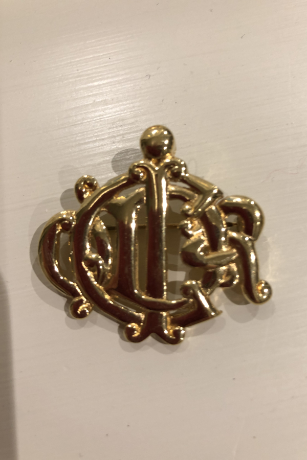 Christian Dior Gold Brooch 1 Preview Images