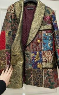 Dolce & Gabbana Brocade & Silk Blazer 2 Preview Images