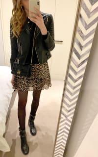 Ganni Leopard Mini Skirt 4 Preview Images