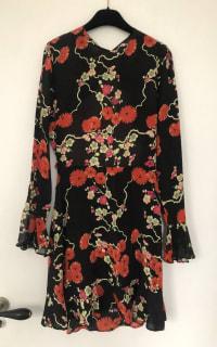 RIXO London Blossom Tree Mini Dress 3 Preview Images
