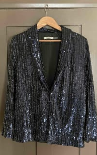 Alice + Olivia Sequin Blazer 3 Preview Images