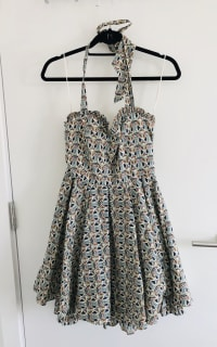 Alice + Olivia Halter Dress 4 Preview Images