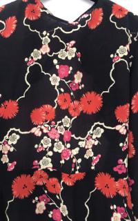 RIXO London Blossom Tree Mini Dress 4 Preview Images