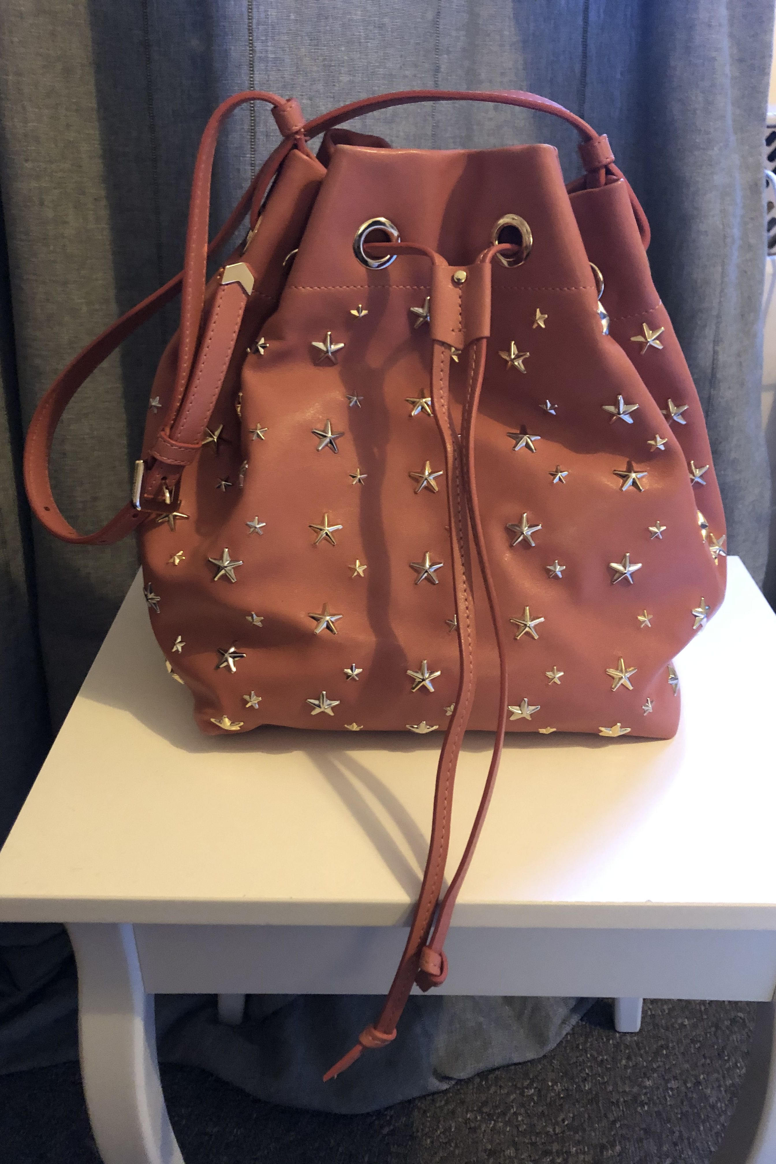 Jimmy Choo Juno Star Studded Bucket Bag 4 Preview Images
