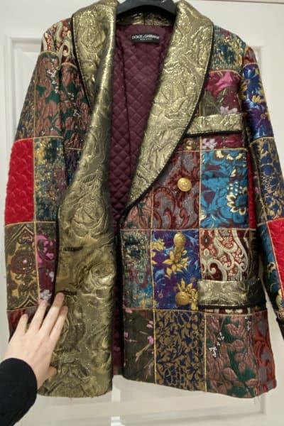 Dolce & Gabbana Brocade & Silk Blazer 2