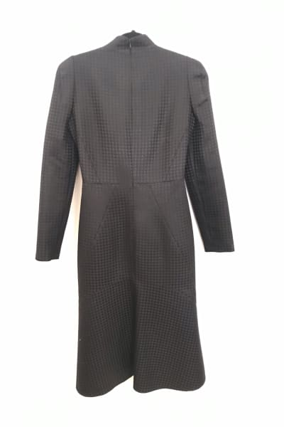 Gucci Houndstooth Open-Neck Dress 5