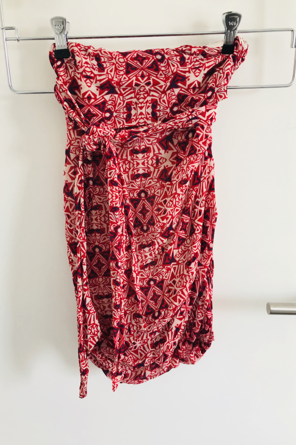 BA&SH Russo Knotted Skirt 3