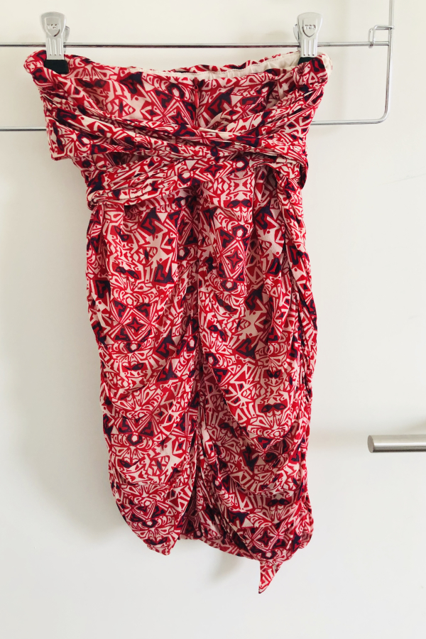 BA&SH Russo Knotted Skirt 2