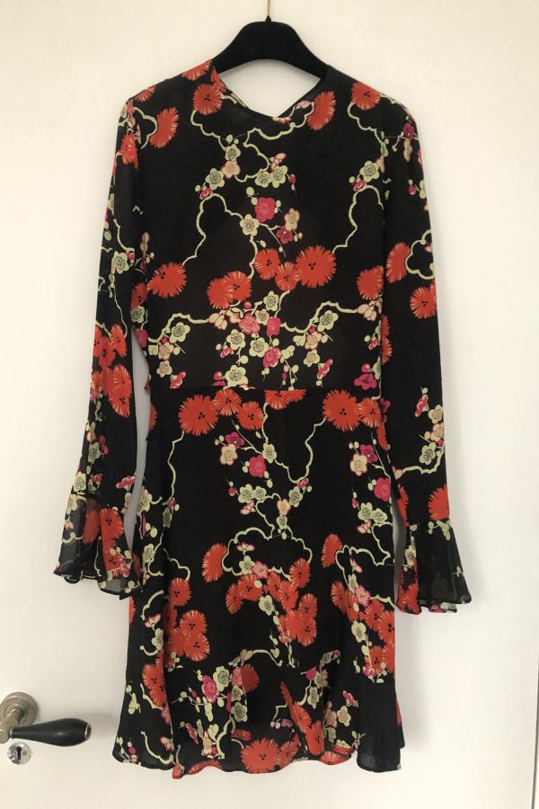 RIXO London Blossom Tree Mini Dress 3