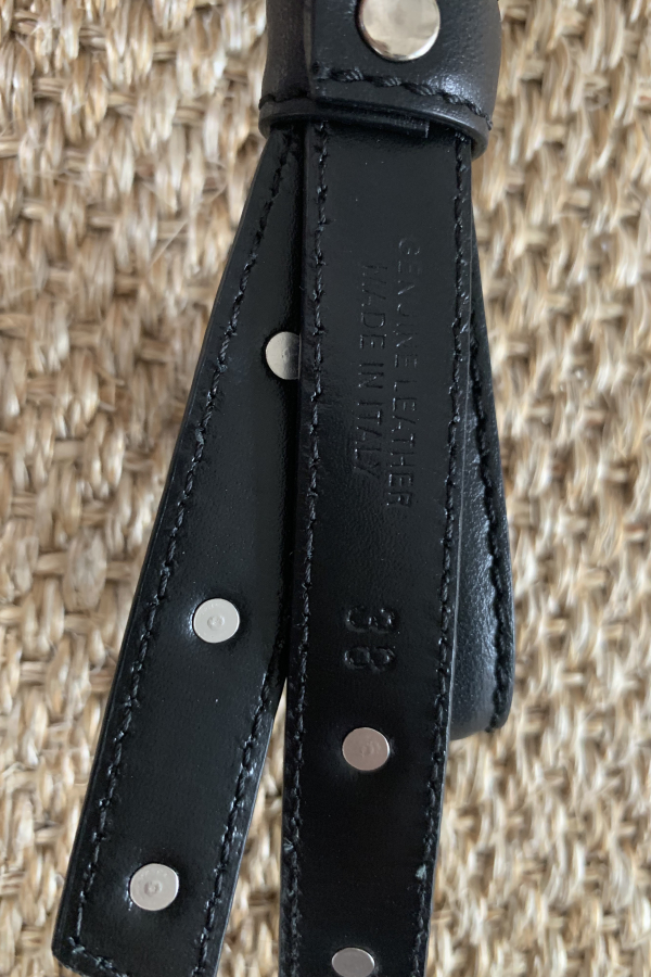 Philosophy di Lorenzo Serafini Pearl Studded Bow Belt 5