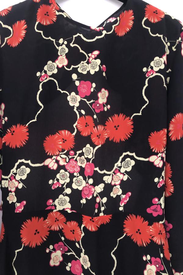 RIXO London Blossom Tree Mini Dress 4
