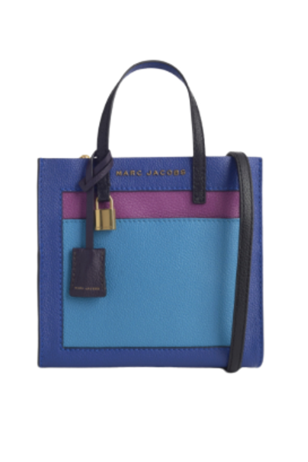 Marc Jacobs The Mini Grind Leather Bag in Academy Blue