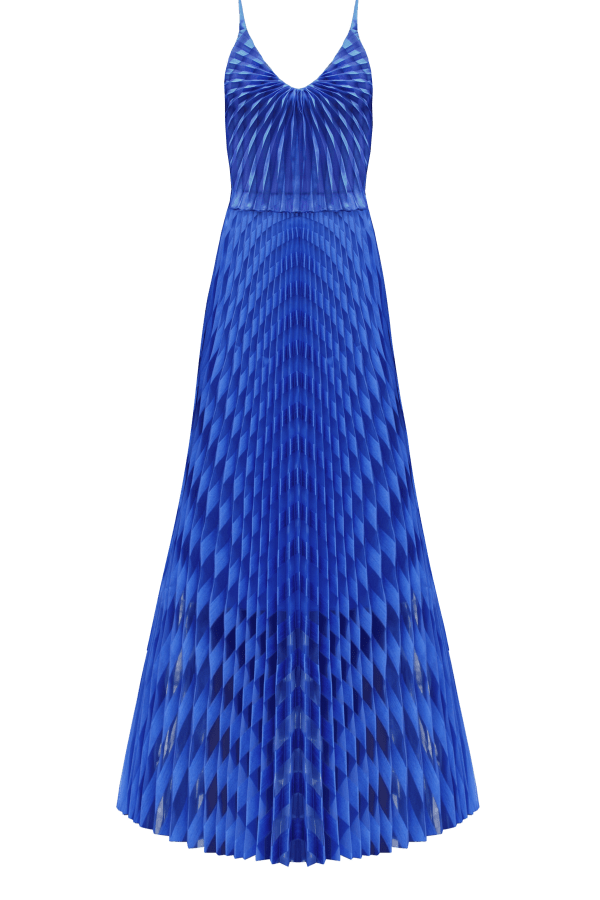 Image 1 of Georgia Hardinge spiral maxi dress
