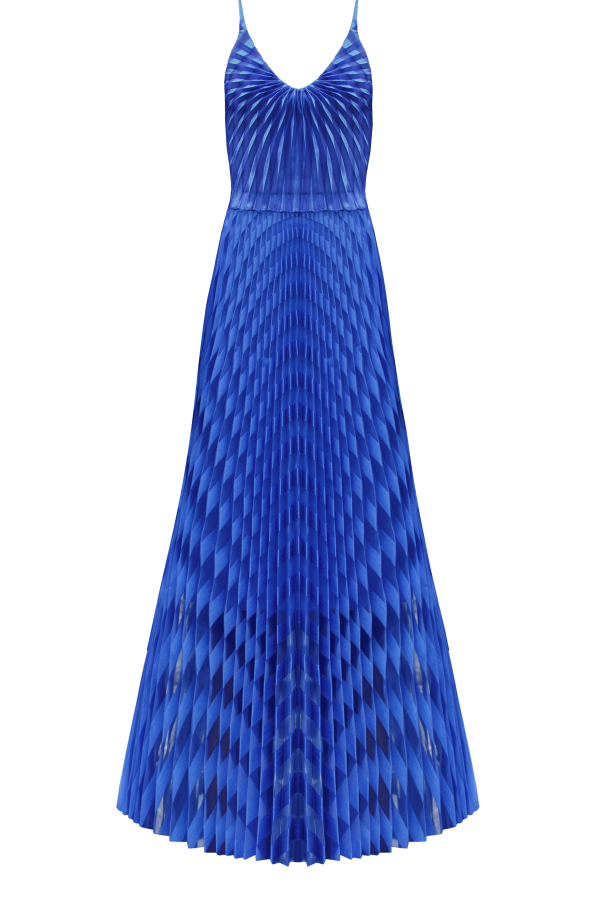 Georgia Hardinge Spiral Maxi Dress