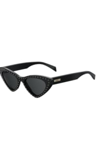 Moschino Studded cat eye sunglasses  Preview Images