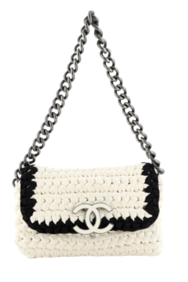 Chanel Crochet shoulder bag
