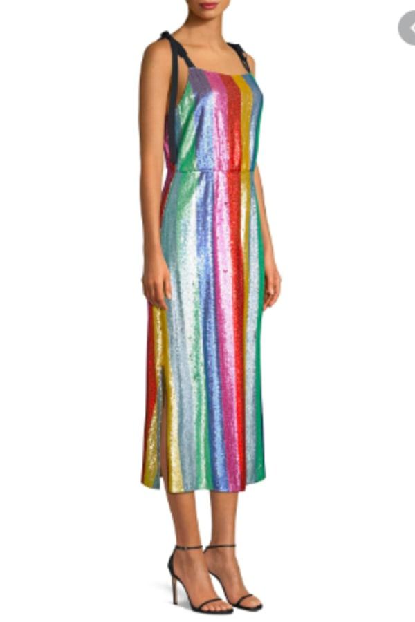 Image 2 of Rixo tessa sequin dress