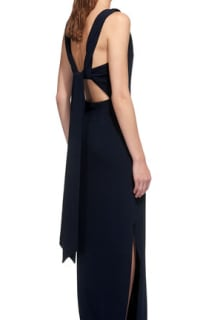 Whistles Tie Back Maxi Dress 5 Preview Images