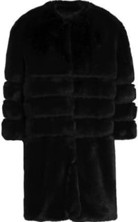 Ainea Quilted faux fur coat Preview Images