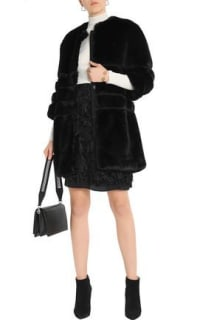 Ainea Quilted faux fur coat 4 Preview Images