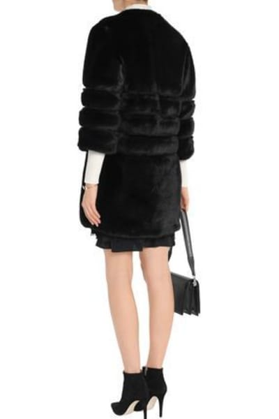 Ainea Quilted faux fur coat 3